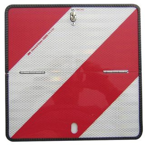 10/x Wei/ß//Transparent rechteckig hinten Reflektoren f/ür Caravan Anh/änger gepr/üft und toreing/änge